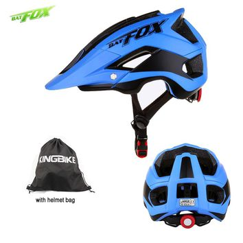BATFOX bicycle helmet Adult men bike helmet woman with helmets bags casco ciclismo mujer vtt velo accessoires bicycle helmets