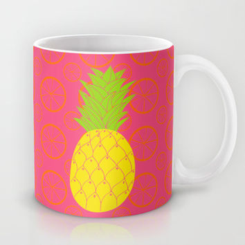 Pineapple  Mug by Ariel Lark