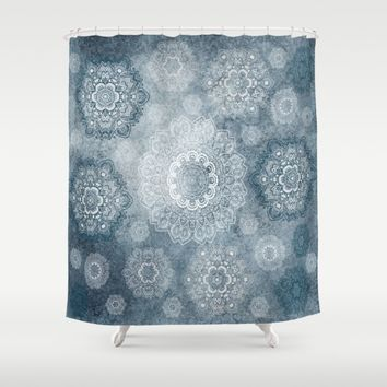 Frozen Dance Shower Curtain by Lena Photo Art