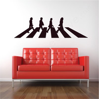 The Crossing: Beatles wall decal