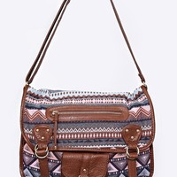 Roadtrip Aztec Messenger Bag