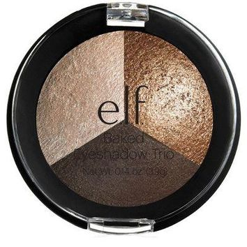 e.l.f. Baked Eyeshadow Trio: Brown Bonanza