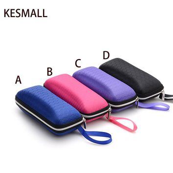 2016 Eyewear Cases cover sunglasses case for women glasses box with lanyard zipper eyeglass cases for men sunglasses accessories