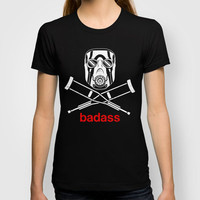 Badass - The Video Game T-shirt by adho1982 | Society6
