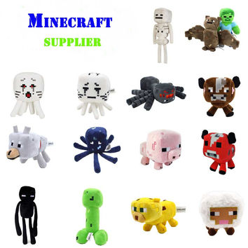 Minecraft plush toy Brinquedos Game Toys Cheapest Sale High Quality Plush Toys Cartoon Game Toys