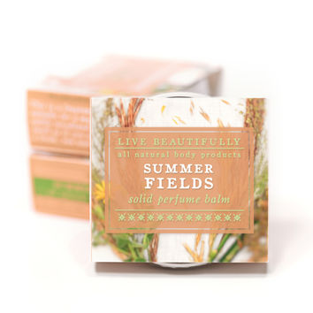 Summer Fields - All Natural Solid Perfume / Cologne
