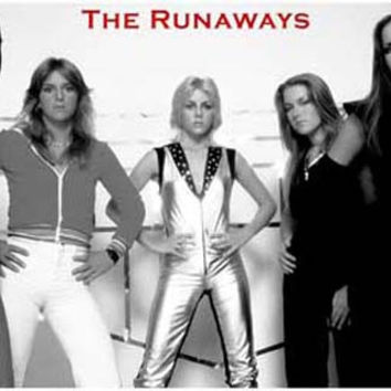 The Runaways Band Portrait Poster 11x17