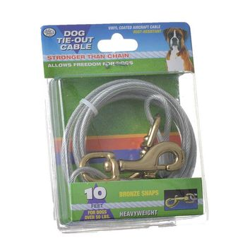 Four Paws Dog Tie Out Cable - Heavy Weight