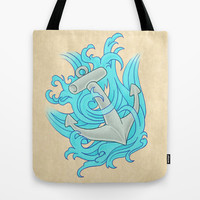 Nautical Dreams Tote Bag by Rachel Sample