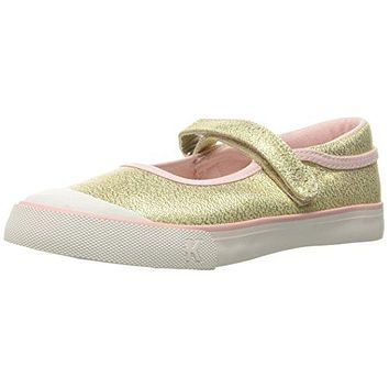 See Kai Run Kids' Marie Gold Glitter Mary Jane Toddler Shoes