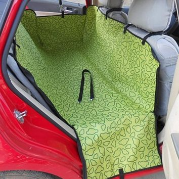Car Full Rear Seat Waterproof Cover for Pets