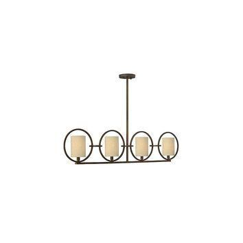 Fredrick Ramond Pandora 4 Light Linear Chandelier