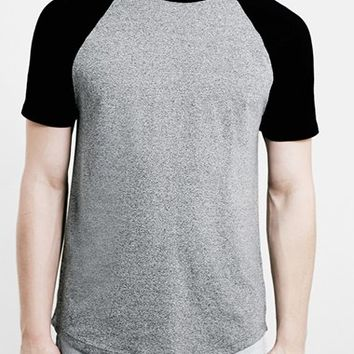 Men's Topman Slim Fit Raglan Short Sleeve T-Shirt