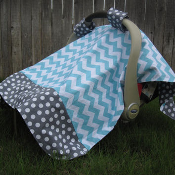 Infant Car Seat Canopy Cover By LittleBugBlankets On Etsy