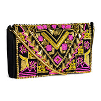 H&M Beaded clutch bag 29,95 €
