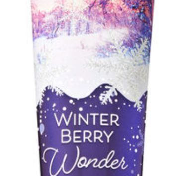 Bath & Body Works WINTER BERRY WONDER Body Cream 10  oz