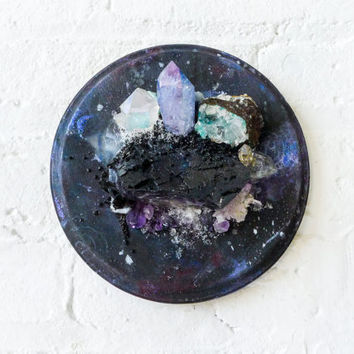Galactic Super Nova Crystal Explosion - Bouquet of Geological Specimens - Unique Home Decor - Space Cadet - Rare Earth Metaphysical Gems