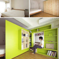 Partition Magic: Space-Saving Mobile Interior Room Dividers | Designs & Ideas on Dornob