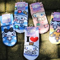 Japanese Kawaii Cinnamoroll Low Socks SD01956