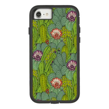 Cactus Flower Pattern Case-Mate Tough Extreme iPhone 7 Case