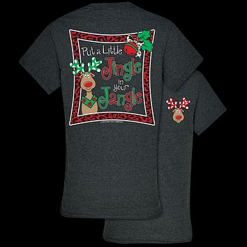 Southern Couture Jingle in your Jangle Holiday T-Shirt