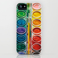 The Painter  iPhone Case by Laura Ruth