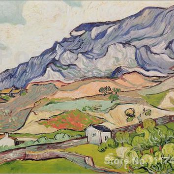 art Oil paintings The Alpilles Vincent Van Gogh reproduction Handmade High quality