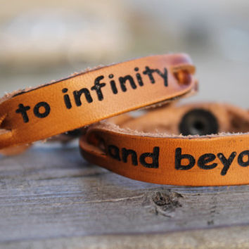 Bracelets, To Infinity and Beyond