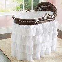Ruffle Bassinet Bedding