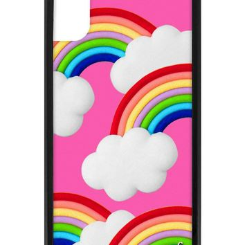 Rainbow Clouds iPhone X Case