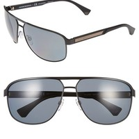 Men's Emporio Armani 64mm Sunglasses