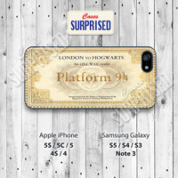 Harry Potter, Platform 9 3/4, Hogwart, iPhone 5 case, iPhone 5C Case, iPhone 5S case, Phone case, iPhone 4 Case, iPhone 4S Case, Phone Skin