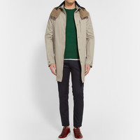 Acne Studios - Troy Hooded Cotton-Canvas Parka | MR PORTER