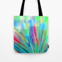 Growth 6 Tote Bag by Jen Warmuth Art And Design