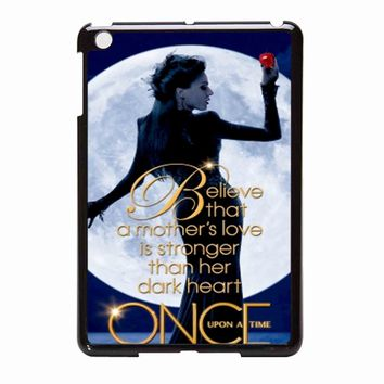 Once Upon A Time Regina Evil Queen iPad Mini Case
