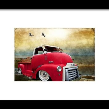Gmc 350 Framed Print By Liane Wright