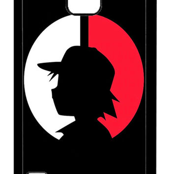 Pokemon Ash Ketchum Samsung Galaxy S5 Cases - Hard Plastic, Rubber Case