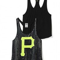 Pittsburgh Pirates Bling Racerback Tank