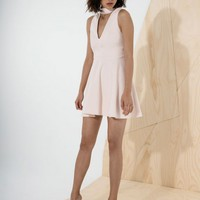 CAMEO Begin Again Dress DUST PINK