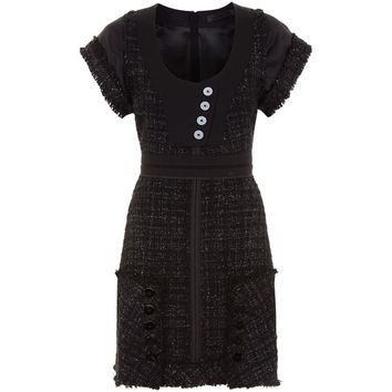 Alexander Wang Deconstructed Tweed Dress | Harrods.com