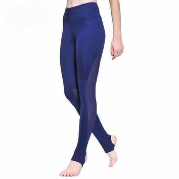 Full Length High Waisted Yoga Pants With Stirrups!
