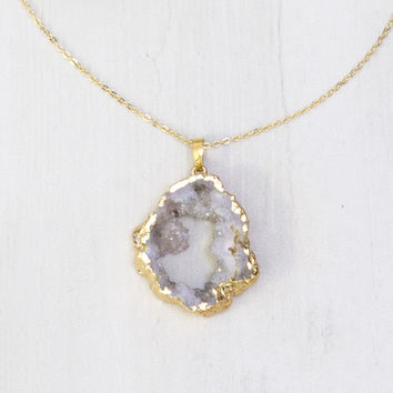Vada Geode Necklace