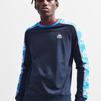 Kappa Luca Crew Neck Sweatshirt | Urban Outfitters