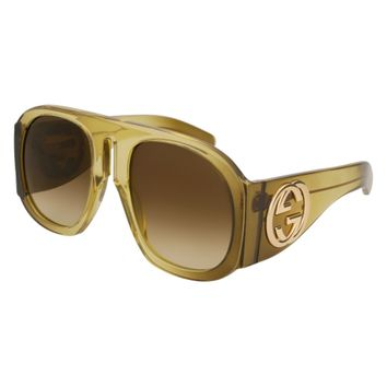 Gucci GG 0152 S- 003 MULTICOLOR / BROWN Sunglasses