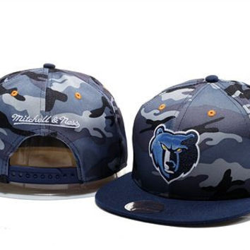 Memphis Grizzlies Mitchell and Ness Snapback Hats