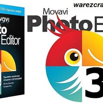 Movavi Photo Editor 3 Activation Key + Crack Free Download