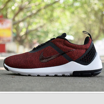 """NIKE"" Trending Fashion casual sports shoes Red"