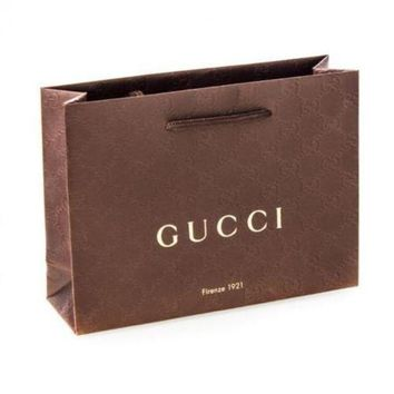 [FREE SHIPPING] DCCK  Gucci Gift Bag
