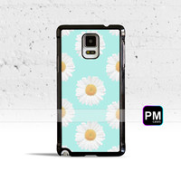 Mint Green Daisies Case Cover for Samsung Galaxy S3 S4 S5 S6 S7 Edge Plus Active Mini Note 3 4 5 7