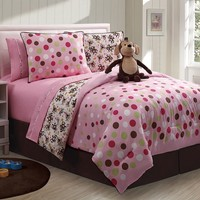 Zoomates Monkey 3-pc. Reversible Comforter Set - Twin